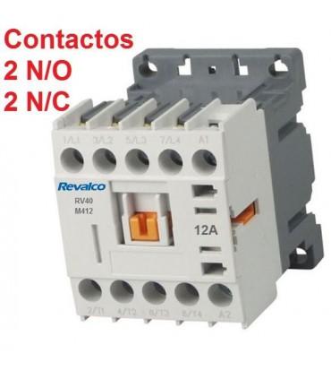 Minicontactor 4P 12A, 2N/A+2N/C, 230V