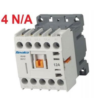 Minicontactor 4P 12A, 4N/A 230V