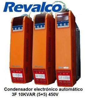 Condensador energía reactiva 3F 450A. 400VAC. 10KVAR