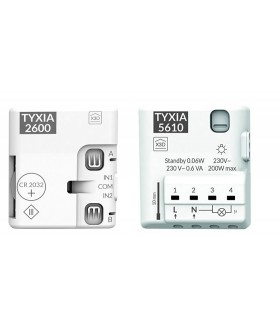 Pack TYXIA 501-5610 receptor  Marcha/Paro 1 vía