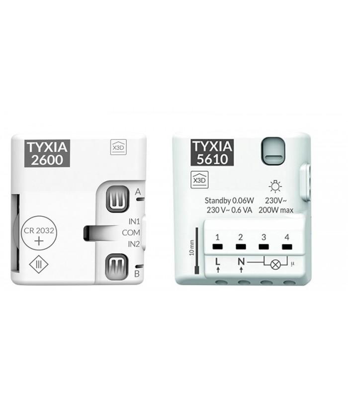 Receptor  Marcha/Paro 1 vía Tyxia 5610