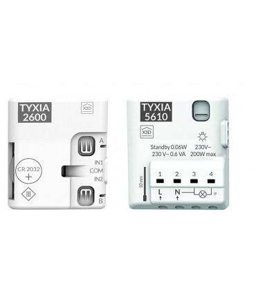Pack TYXIA 501-5610Receptor  Marcha/Paro 1 vía