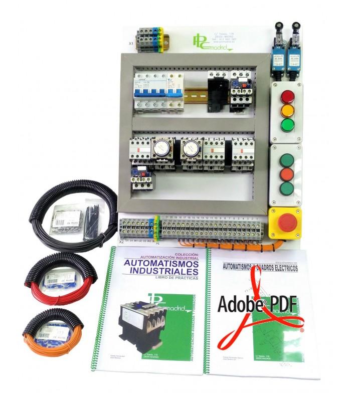 Pack Automatismos industriales (Especial Formación y Autoformación)