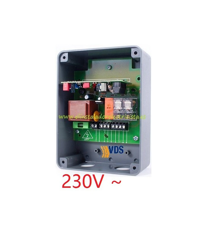 Detector por lazo magnético de vehículos QDM1 230V