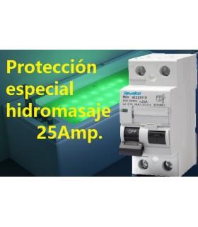 Protección Especial Diferencial 25A 10mA Tipo AC
