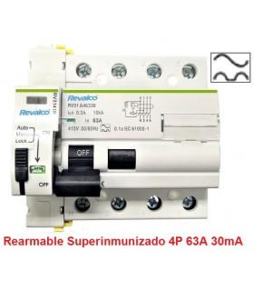Superinmunizado 63A 30mA Trifásico 10kA Rearmable