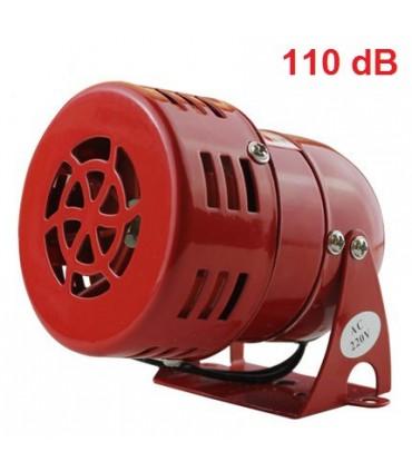 Sirena acústica 110dB 230V