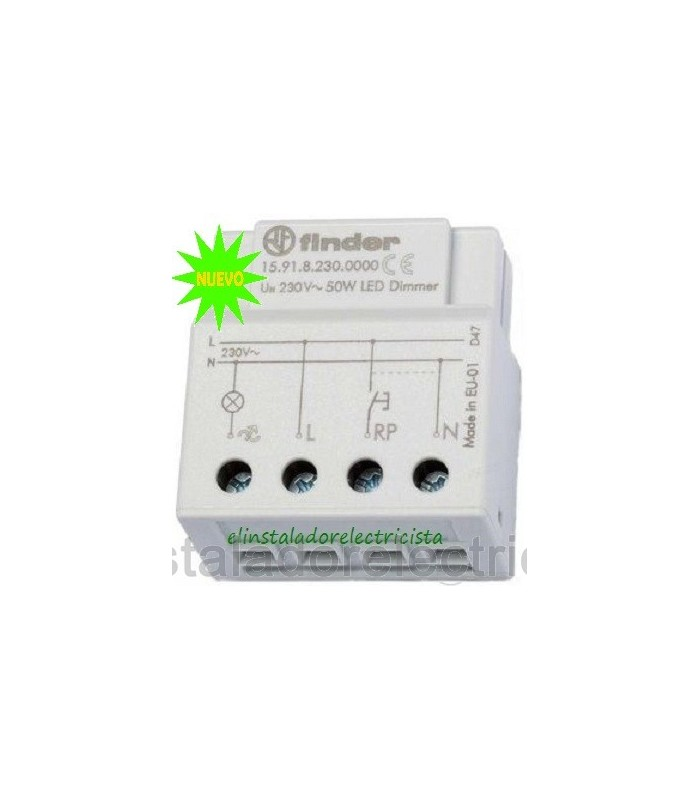Dimmer especial para led Finder 15.91.8.230