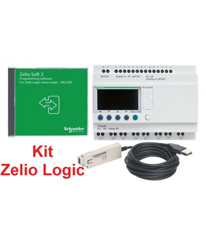 Zelio Logic SR3PACK2FU