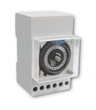 Interruptor  Horario Analógico 230V con reserva