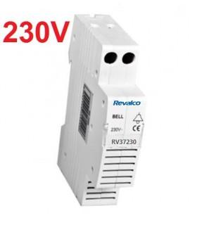 Zumbador acústico 230V Rail DIN
