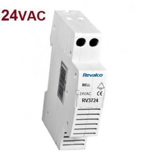 Zumbador acústico 24VAC Rail DIN