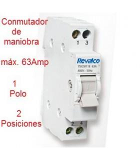 Conmutador de 1 Polo 63A