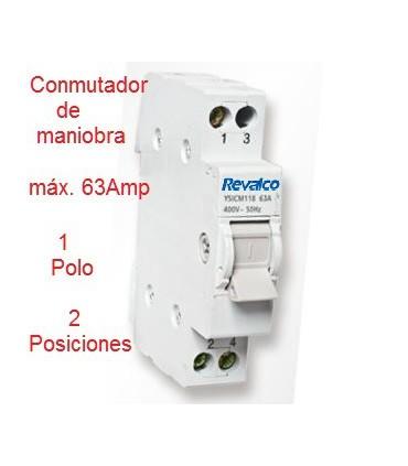 Conmutador 2 Posiciones 1 Polo 63A