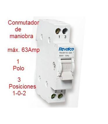 Conmutador 3 Posiciones 1 Polo 63A