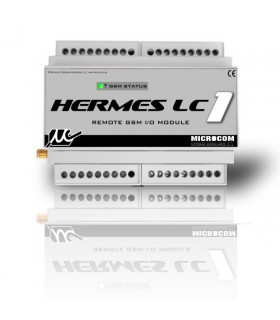 Controlador GSM Alarmas Hermes LC1