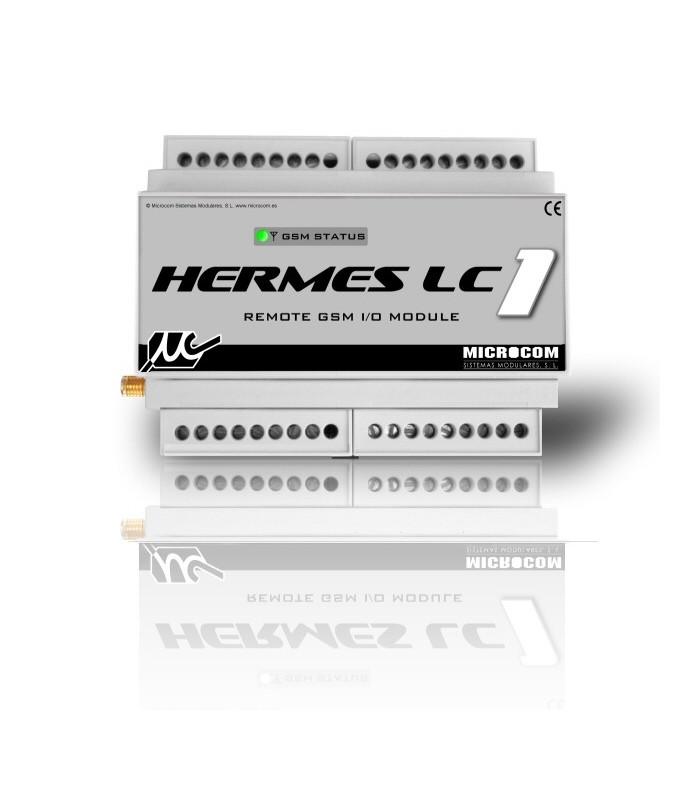 Telecontrol y Alarmas vía GSM Hermes LC1
