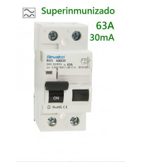 Superinmunizado 63A 30mA 2 polos 0kA
