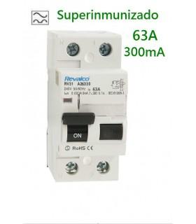 Superinmunizado 63A 300mA 2 polos, 10kA
