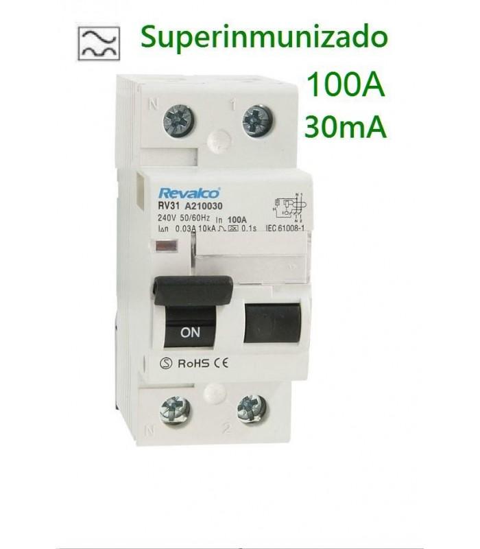Superinmunizado 100A 30mA 2 polos