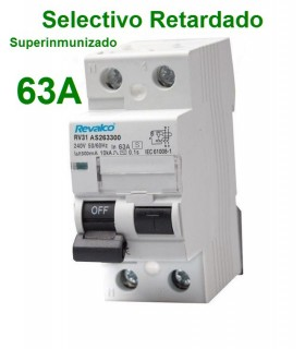Selectivo 63A 2P 300mA Superinmunizado