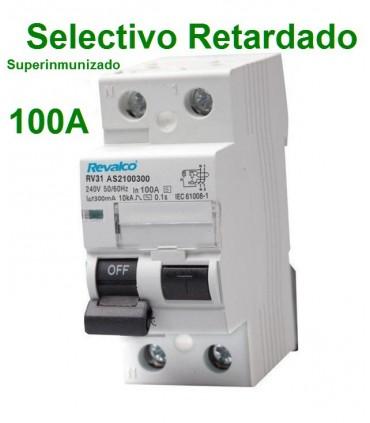 Selectivo 100A 2P 300mA Superinmunizado