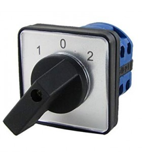 Interruptor 25A de Levas 3 polos