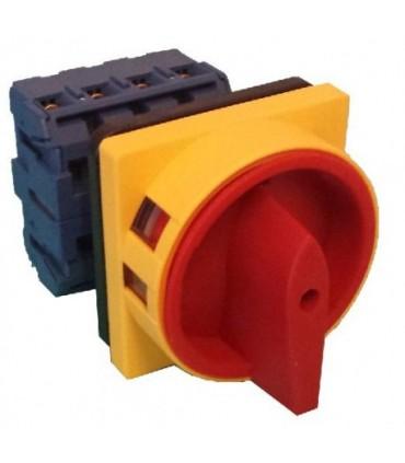 Interruptor 25A 3P montaje en panel