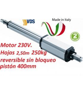 Motor PM C400 reversible puerta batiente 2,50m y 250kg. VDS