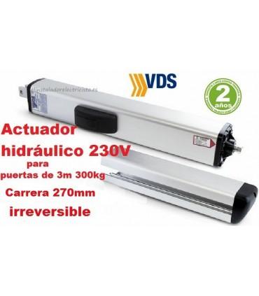 Hidráulico PH1 C270 irreversible batiente 3m y 300kg VDS