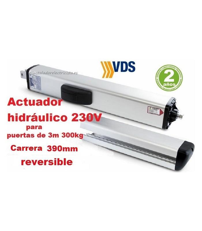 Brazo hidráulico PH C390 reversible batiente 3m y 300kg VDS