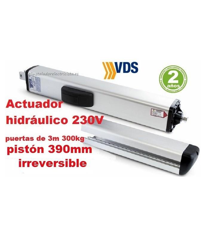 Hidráulico PH1 C390 irreversible batiente 3m y 300kg VDS