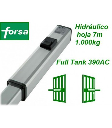 Hidráulico FULL TANK 390 AC 1000kg, 7m.