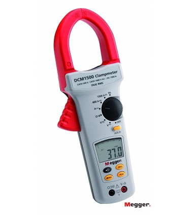 Pinza DCM1500 Amperimétrica Digital 1500A Megger