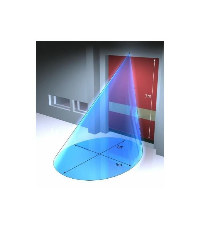 Radar microondas puertas industriales
