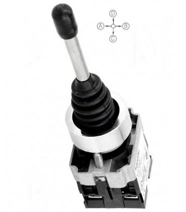 Joystick 4 posiciones con retorno al centro