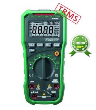 Multímetro KPS-MT60 TRMS