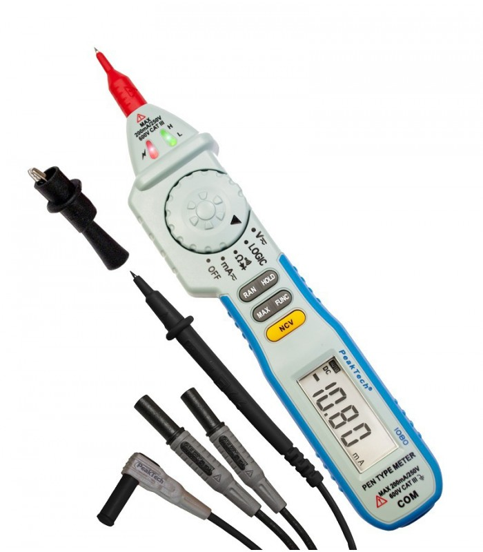 Multímetro Digital tipo lápiz ~ 2.000 cuentas ~ 600V CA / DC
