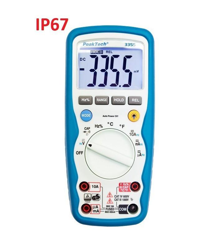 Multímetro IP67