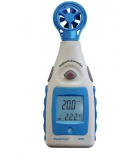 Anemómetro con pantalla LCD
