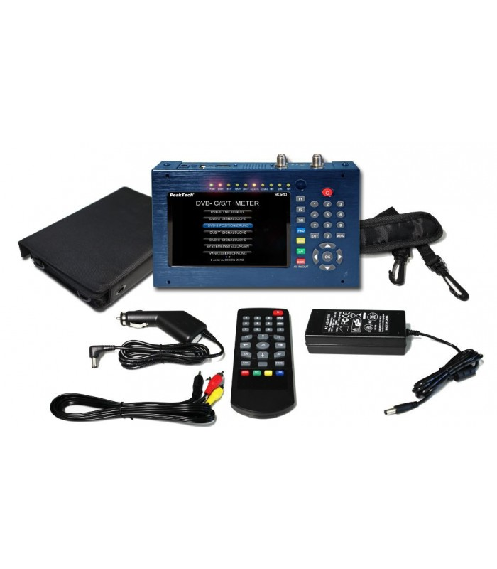 """Medidor de campo  DVB  con Pantalla 5"""" Display-TFT"""