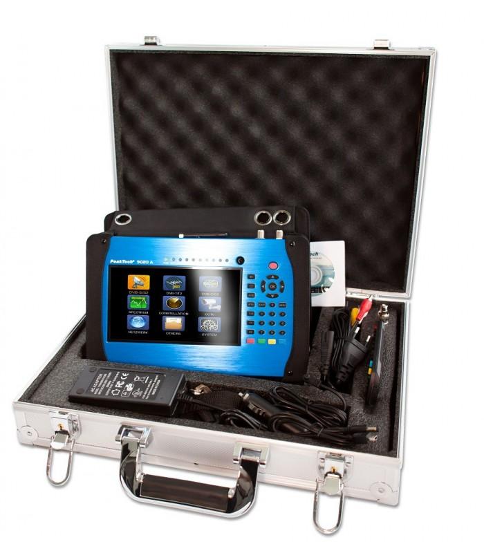 """Medidor de campo  DVB  con Pantalla 7"""" Display-TFT"""