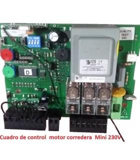 Cuadro de control  motor corredera 230M1 Mini +RX