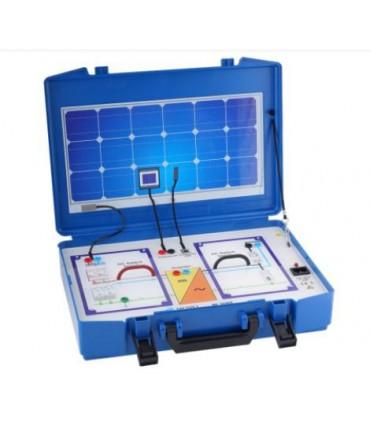 Panel de demostraciones sistema fotovoltaico MI 3088