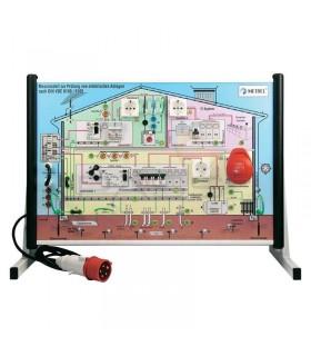 Panel de demostraciones instalación eléctrica