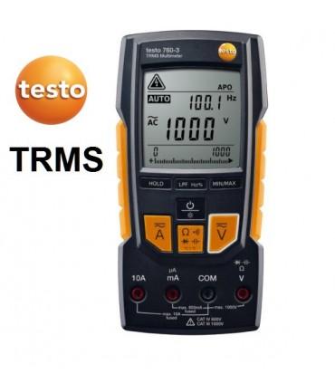 Multímetro TRMS digital testo 760-3 hasta 1.000V
