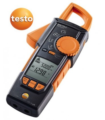 Pinza amperimétrica testo 770-2 TRMS