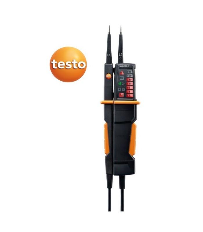 Comprobador de tensión Testo 750-1