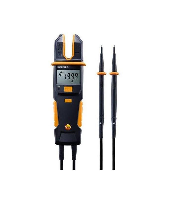 Comprobador de tensión y corriente Testo 755-1