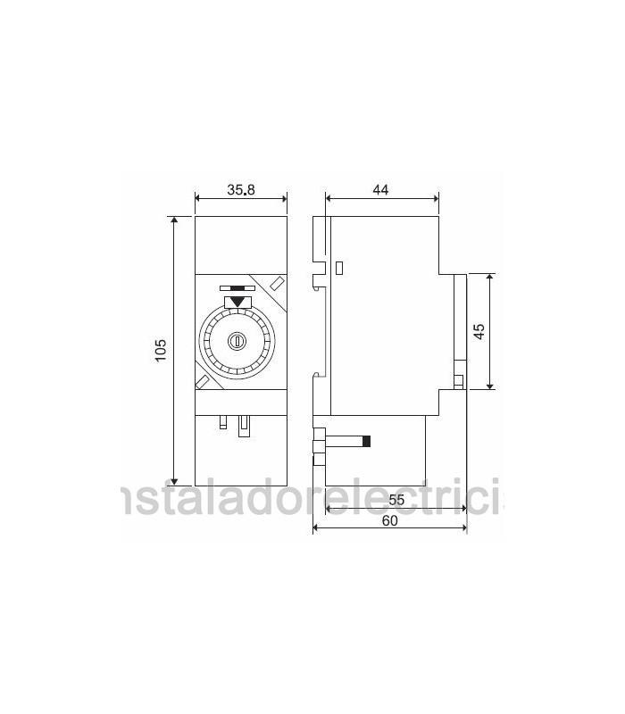 Interruptor horario mecánico 16 A Finder 12.01.8.230 FINDER